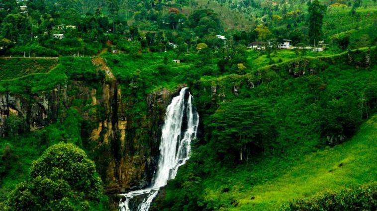 Water falls in Sri Lanka
